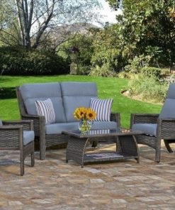 Loveseat Chair Patio Set