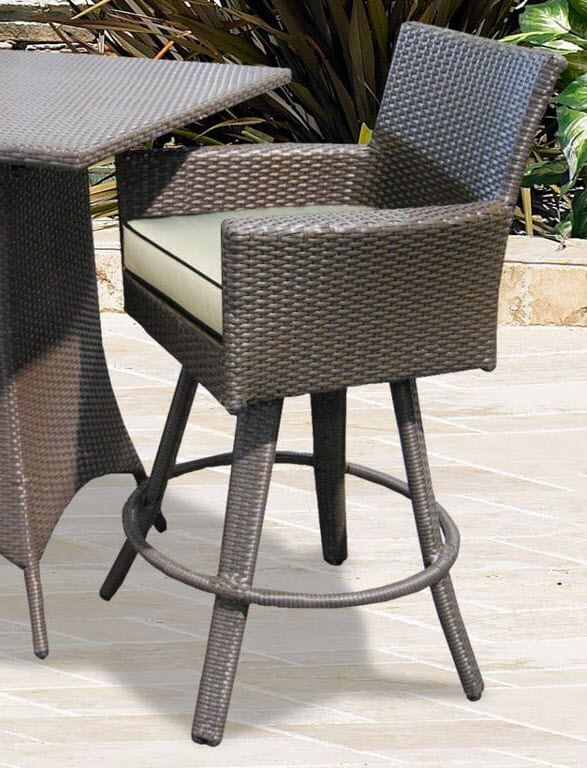 Universal 26 Counter Height Swivel, Patio Furniture Bar Height Chairs