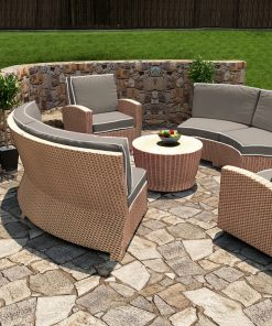 5 Piece Barbados Sectional Set