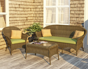 3 Piece Rockport Sofa Set