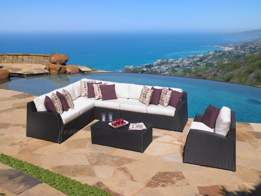 Soho Sectional Sofa and Chair Set